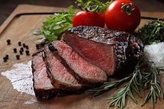 烤肋条肉 免版税库存照片