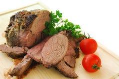 烤肋条肉 库存照片