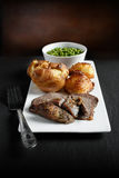 2烤肋条肉 库存图片