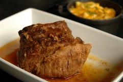烤肋条肉 免版税库存图片