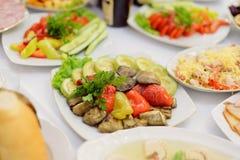 烤蔬菜 免版税库存照片