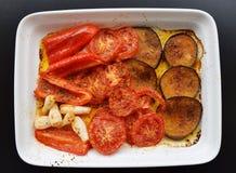 烤蔬菜 免版税图库摄影