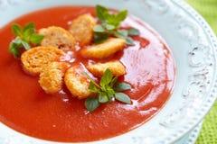 烤蕃茄汤 库存图片