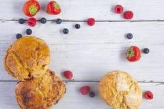 烤饼用果子 免版税图库摄影