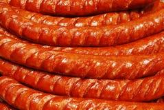 烤香肠 免版税库存照片