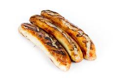烤香肠 免版税库存图片