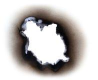 烧伤纸 免版税库存图片