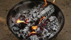 烧在慢动作的火 影视素材