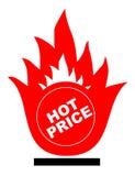 热价格 图库摄影