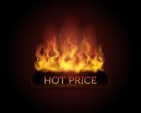 热价格 免版税库存照片