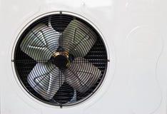热化和用于住宅家的AC单位 库存图片