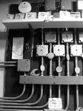 热化管理系统时间实用程序 免版税库存照片