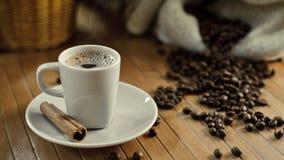 热咖啡杯 图库摄影