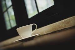 热咖啡的浓咖啡 库存照片