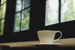 热咖啡的浓咖啡 免版税库存照片