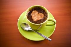 热咖啡的饮料 免版税库存图片