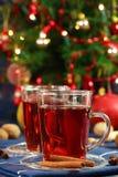 热圣诞节的饮料 免版税图库摄影