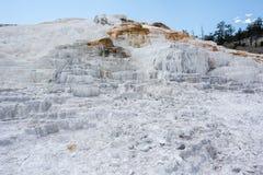热声势浩大的国家公园反弹黄石 库存照片
