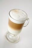 热奶咖啡上色二 免版税库存图片