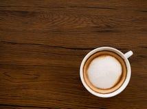 热奶咖啡咖啡杯 库存图片