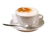 热奶咖啡咖啡 图库摄影