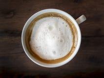 热奶咖啡咖啡 免版税库存图片