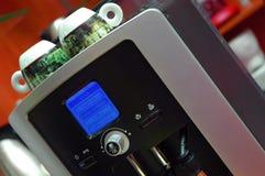 热奶咖啡设备 库存图片