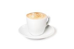 热奶咖啡 库存图片