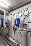 热导管系统 免版税库存图片