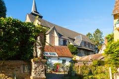 热尔伯鲁瓦村庄法国3 库存图片