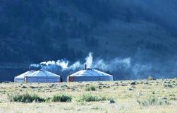 热尔省在蒙古 免版税库存图片