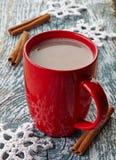热巧克力饮料 免版税图库摄影