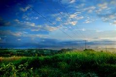 热带中断的日 库存图片