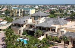 热带佛罗里达的场面 免版税库存照片