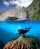 热带印度尼西亚的天堂 库存图片
