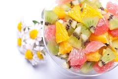 热带另外的水果沙拉 免版税图库摄影