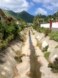 热带垄沟 免版税库存图片