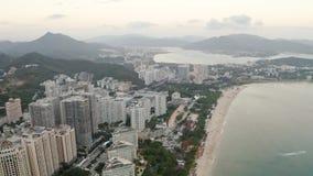 热带城市天线 股票视频