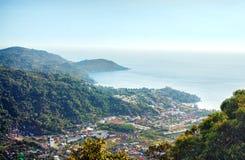 热带重新创建岸 免版税库存图片