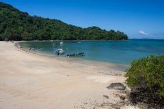 热带天堂海滩 库存照片