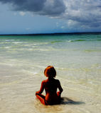 热带天堂 库存图片