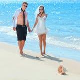 热带婚礼 库存图片