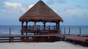 热带小屋 库存图片