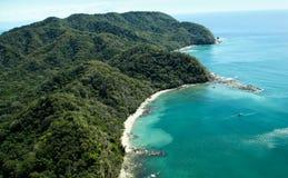 热带小海湾 免版税库存照片