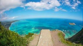 热带峭壁边缘 免版税库存照片
