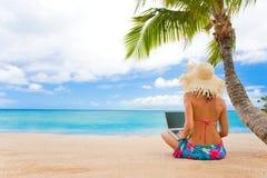 热带工作 免版税图库摄影