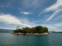 热带巴西的海岛 库存图片