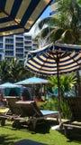 热带度假区 库存图片