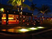 热带度假旅馆酒吧巴厘岛01 免版税图库摄影