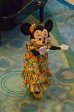 热带成套装备的Minnie 免版税库存图片